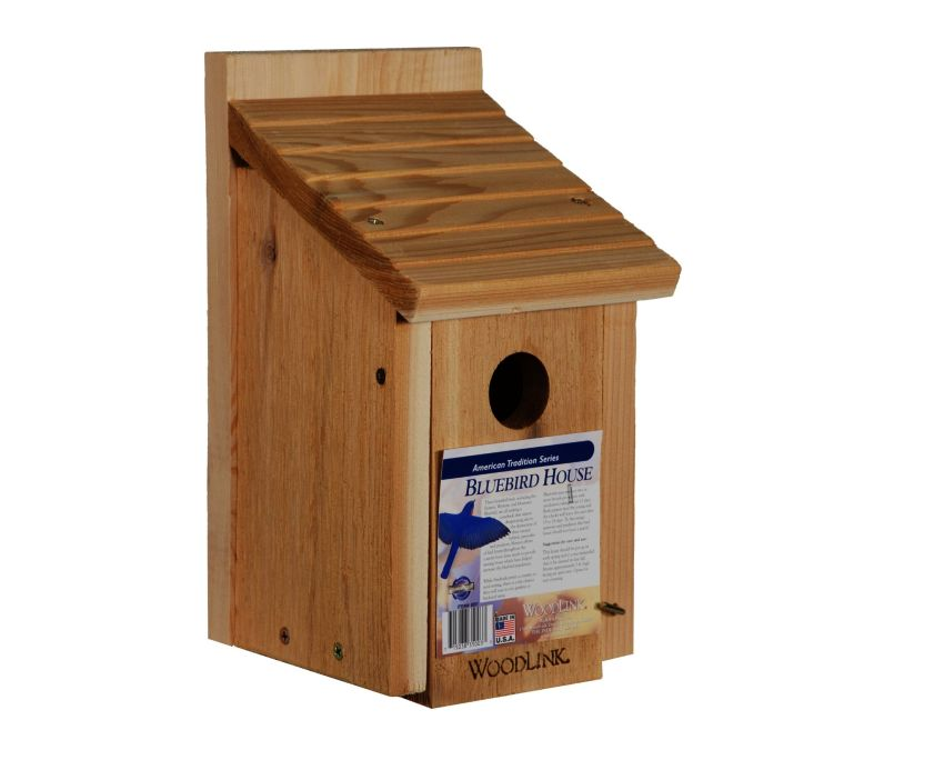 Woodlink wooden birdhouse