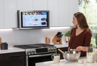 GE Appliances Kitchen Hub – Smart Range Hood - CES 2019