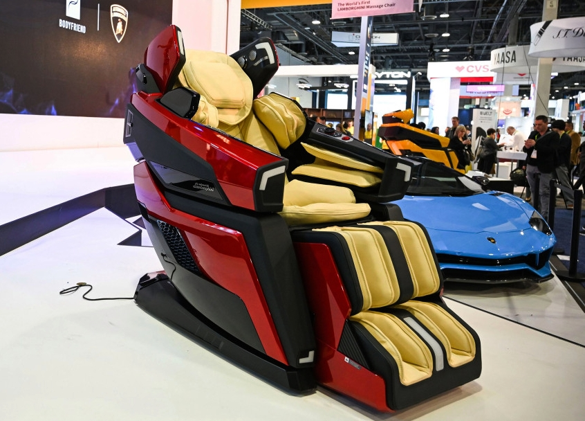 Lamborghini Massage Chair - CES 2019
