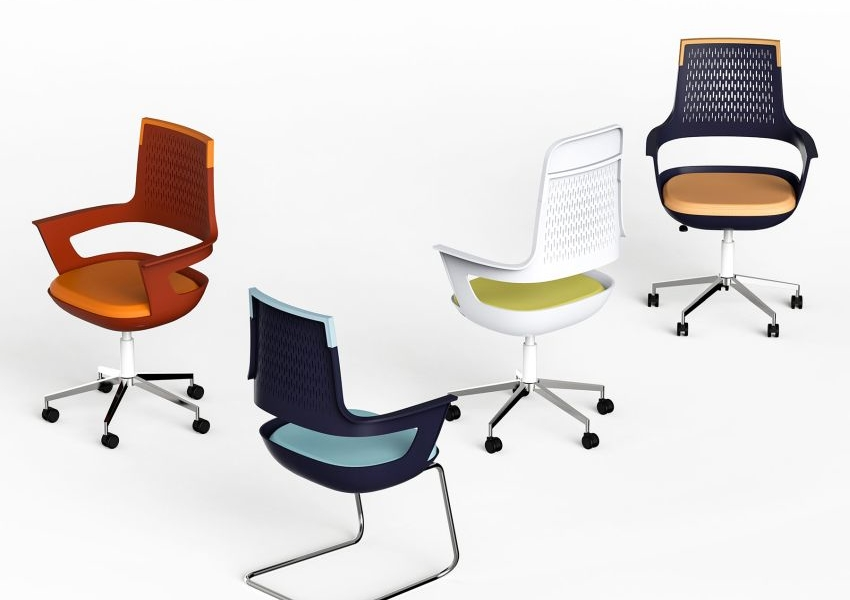 One Office Chair by Pq Design can be Assembled in Three Different Ways