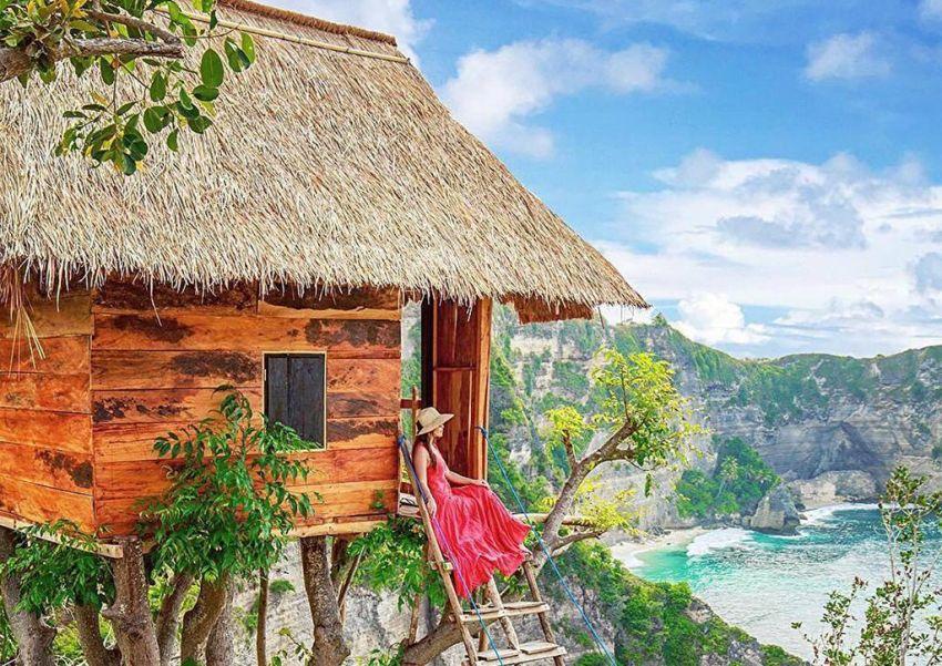 Instagram Worthy Airbnb Treehouse Rental in Bali
