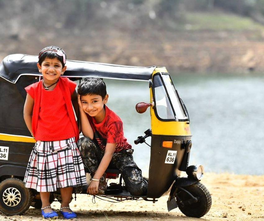 DIYer Dad Builds Mini Auto-Rickshaw for His Kids