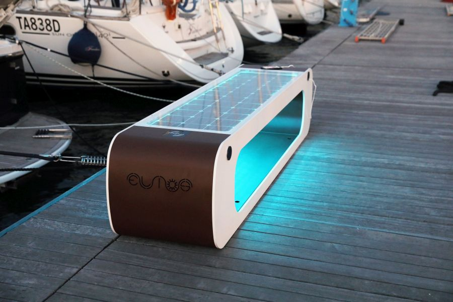 Elios Smart Public Bench by CITYSI