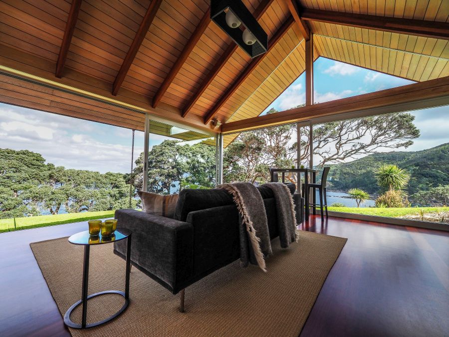 Glass house rental in Whangarei, New Zealand