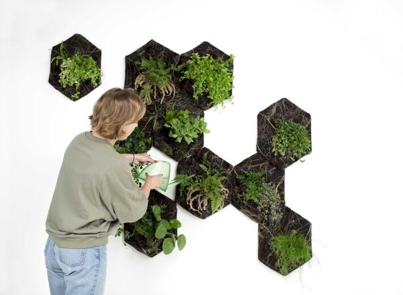 Vertical Quilt Garden - Vertical Garden