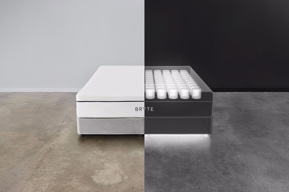 Bryte AI-Powered Smart Bed Improves Your Sleep Day by Day