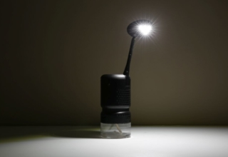 Lumir K: Cooking Oil-Powered LED Lamp to Deal with Power Outrages