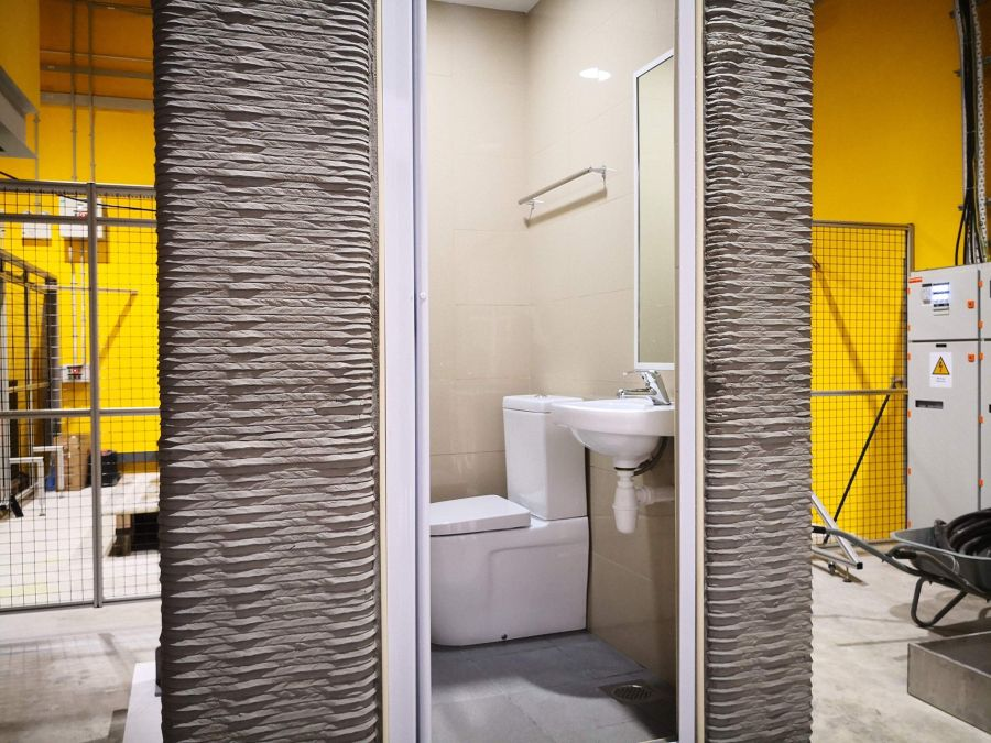 Researchers have developed a Way to 3D-Print Prefab Bathroom Units