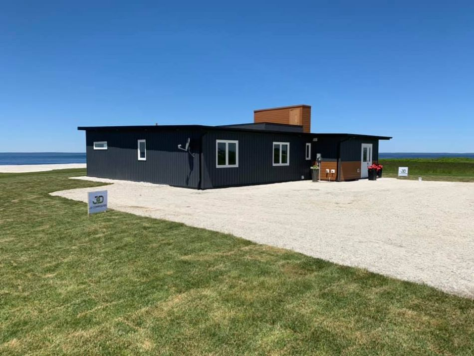JD Composites Builds Three-Bedroom House Out of Plastic Bottles