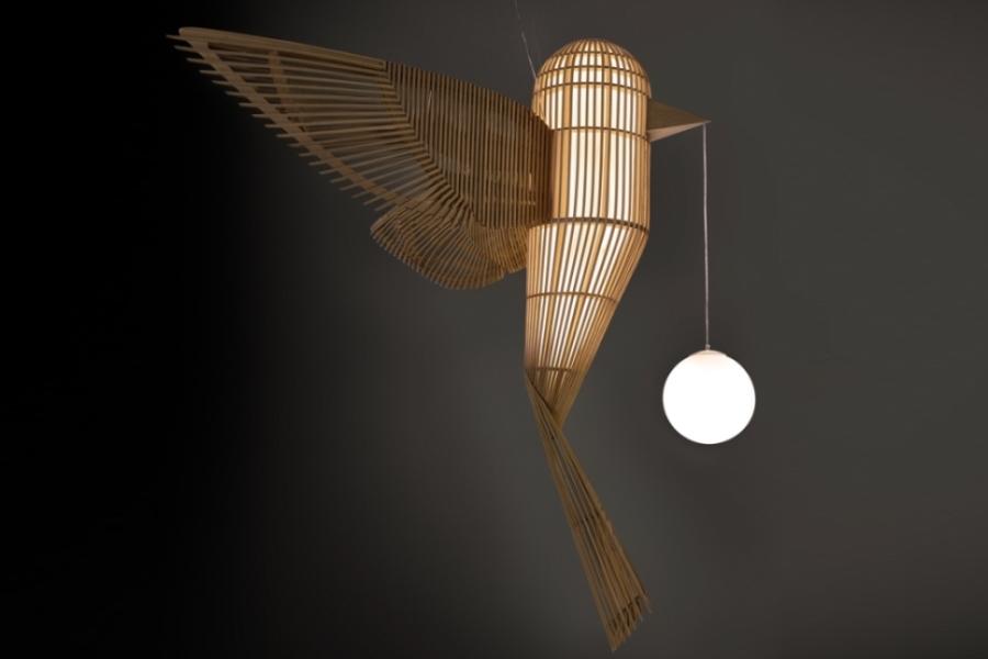 Lzf Lamps Unveils Bird Shaped