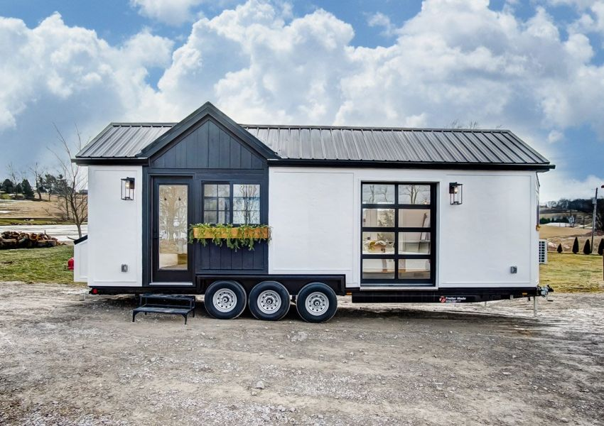 Custom-built by tiny home builder Modern Tiny Living