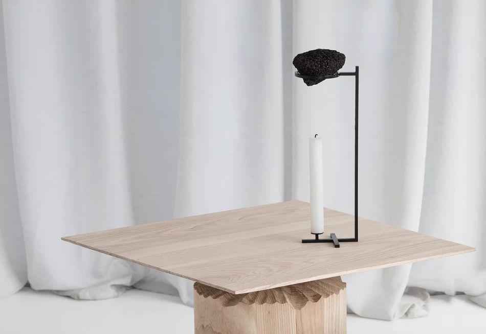 Nostalgia Candleholder by Sanna Völker Doubles as Aroma Diffuser