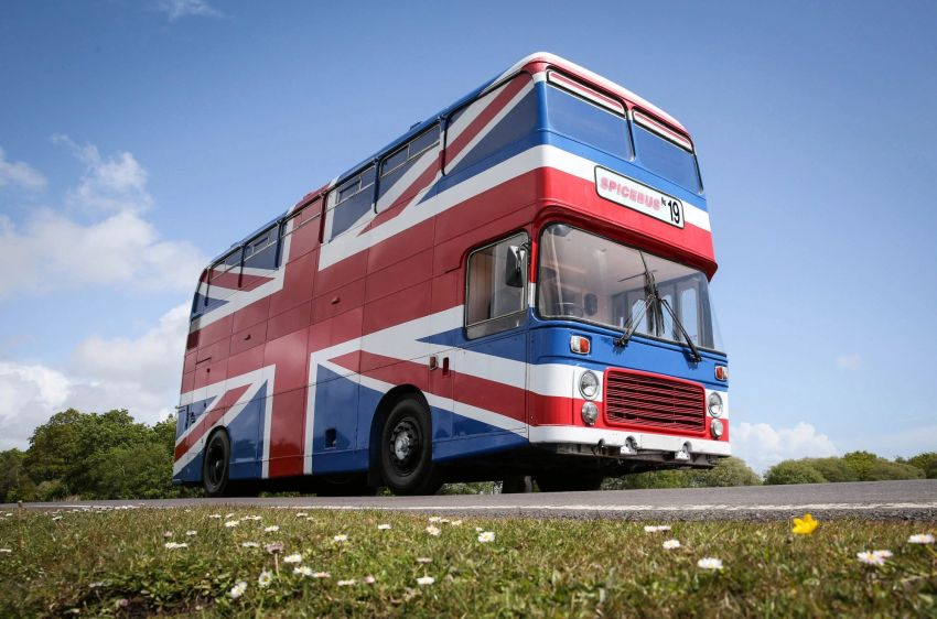 You can Rent Original Bus from Spice World Movie on Airbnb