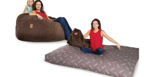 CordaRoy's Chenille Beanbag Chair Bed