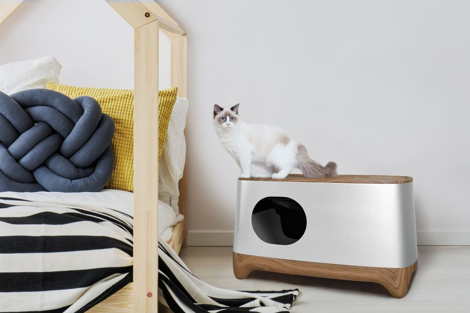 iKuddle Auto-Pack and Self-Cleaning Litter Box is A Must for Cat Owners