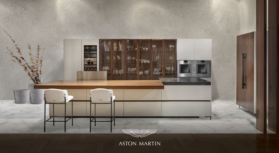 V888 Aston Martin kitchen: Borne of collaboration between luxury car manufacturer and Formitalia