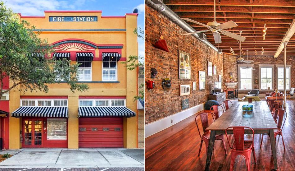 Historic Sanford Fire Station, Florida is Available for Rent on Airbnb