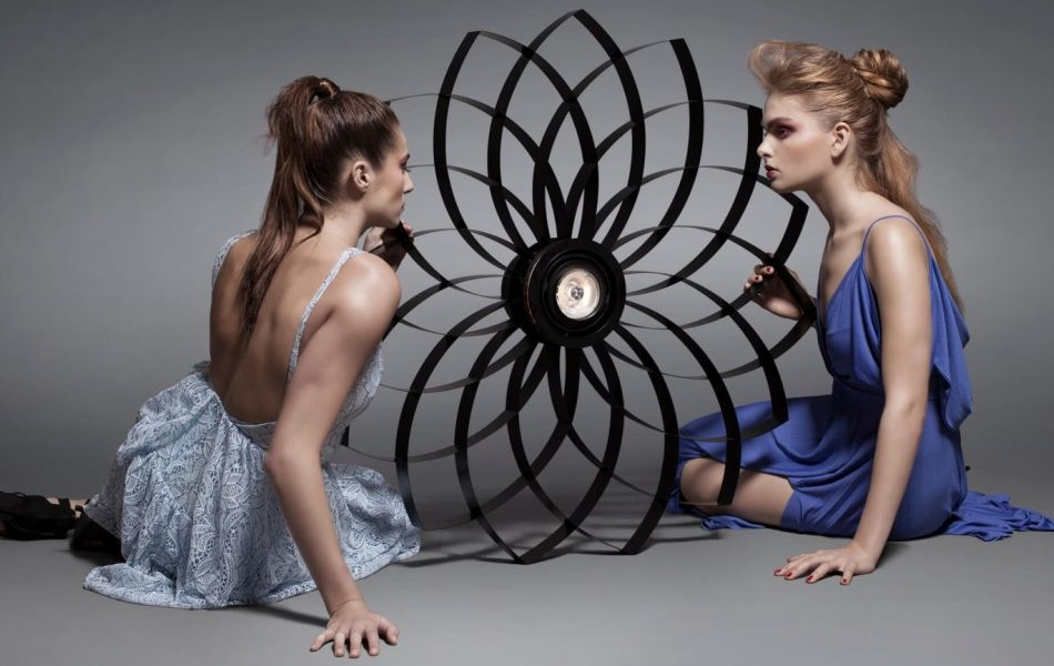 Exquisite Collection of Dahlia Lamp by Jasper van Grootel