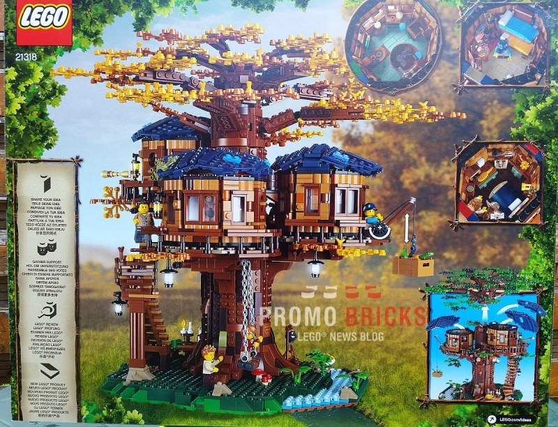 Official LEGO Ideas Treehouse Set at LegoLand