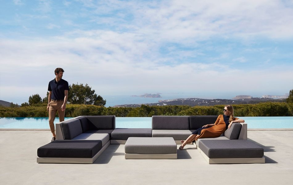 Ramón Esteve Designs Pixel Outdoor Modular Sofa for Vondom