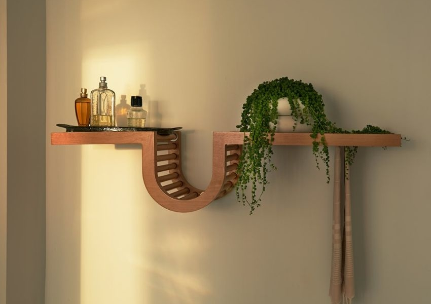 Wave Shelf by Oliver Haslegrave for TORTUGA Living