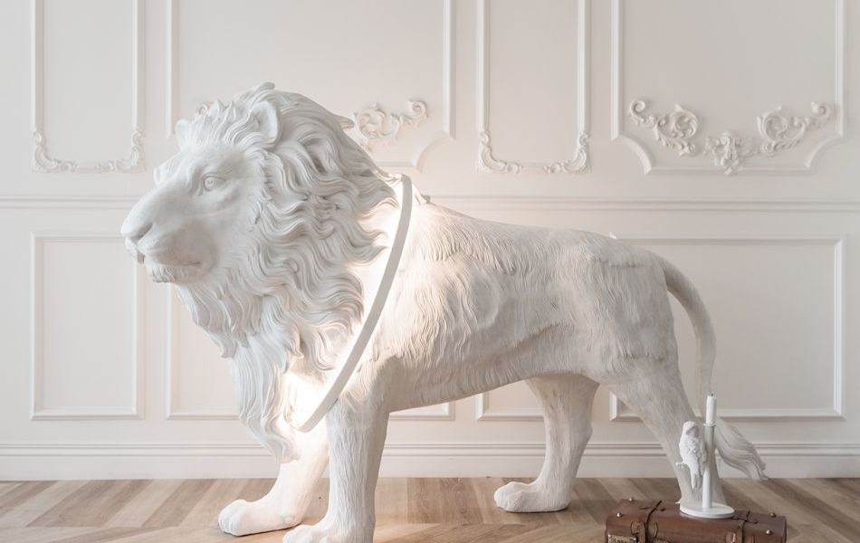 Haoshi's lion X lighting: Let the Lion Light guard your Kingdom