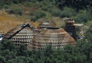 Kanye West's Prototypes of Affordable Homes are dome-shaped Houses Inspired from Star Wars