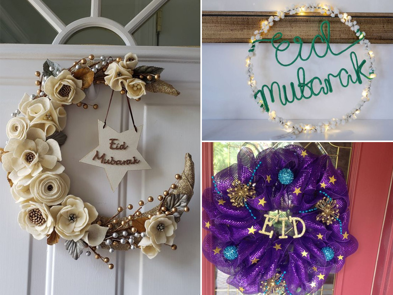Ways to decorate home for Eid