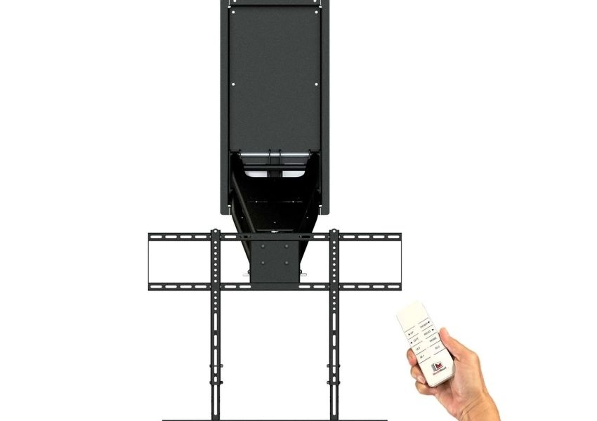 MantelMount Introduces its Smart Home Ready MM860 Automated TV Mount