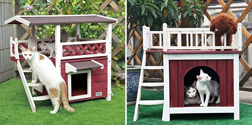 Petsfit Weatherproof Cat House