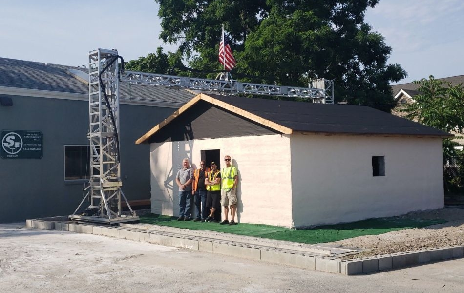 This 3D Printed House in New York is Completed in Under 12 Hours