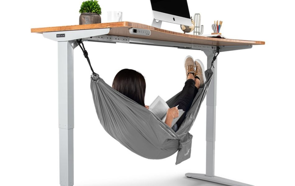 Under Desk Hammock to Take a Nap at Work