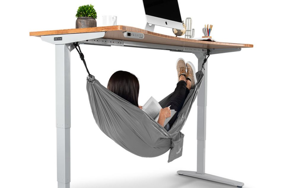 Under Desk Hammock to Take a Nap at Work