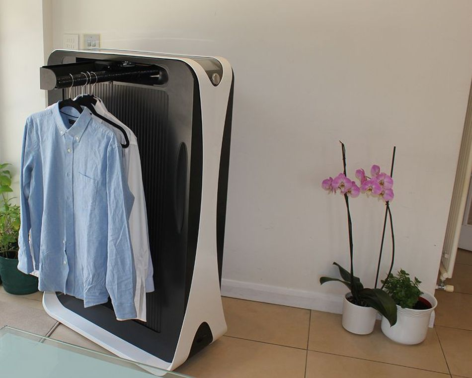 World's First Automated Ironing Machine Effie Irons your Clothes in Three Minutes