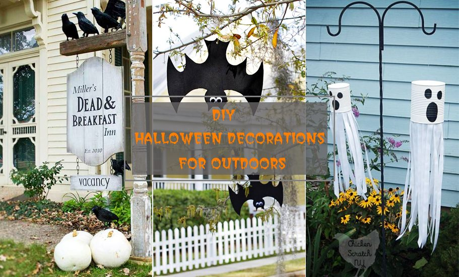 30 Diy Halloween Decorations For Outside Of Your Home