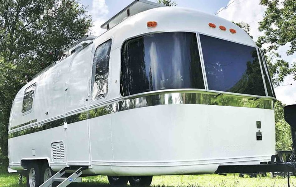 Drivin' & Vibin' Renovated Vintage Airstream Argosy in An Off-grid Tiny Home