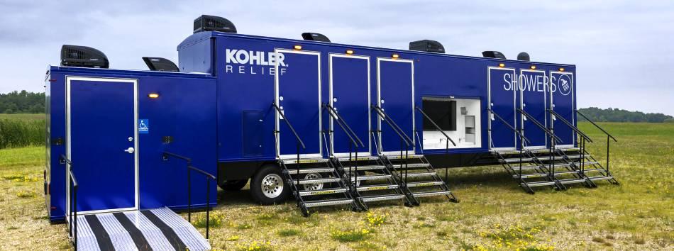 Kohler Relief Trailer Hurricane Dorian