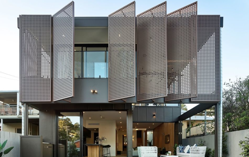Onyx House by Joe Adsett Architects Features Kinetic Façade