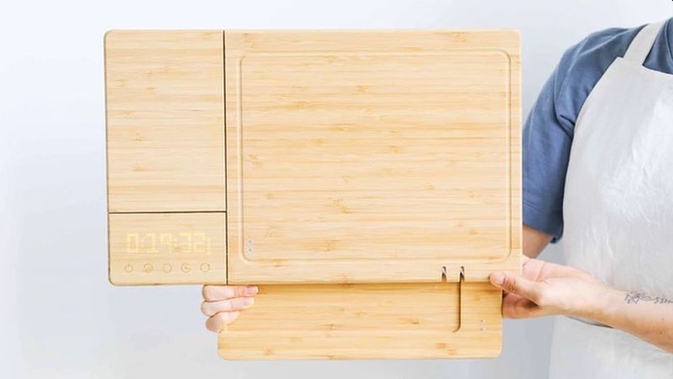 World's First Smart Cutting Board ChopBox is a Five-in-one Gadget