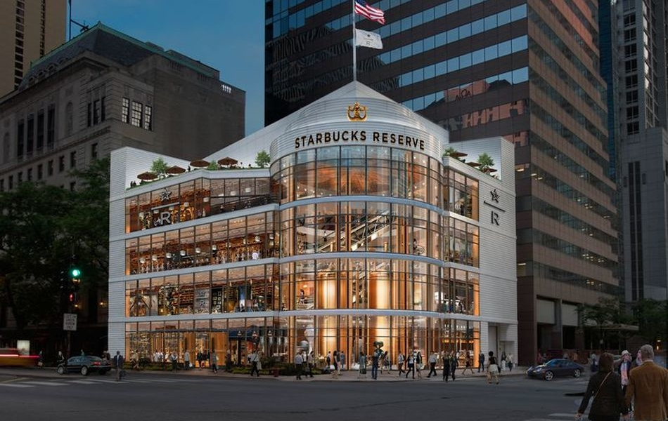 World's Largest Starbucks Roastery Opening in Chicago This November