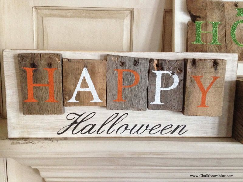 halloween sign decorations