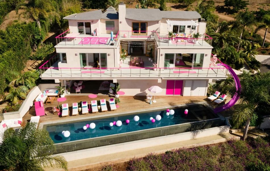 Barbie's Malibu Dreamhouse is Available for Rent on Airbnb