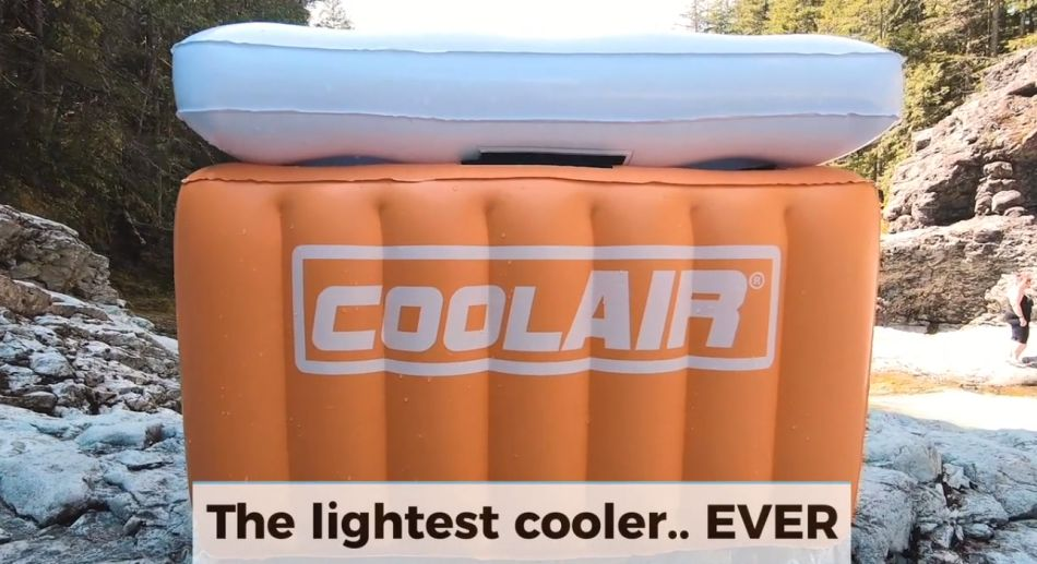 CoolAir inflatable cooler
