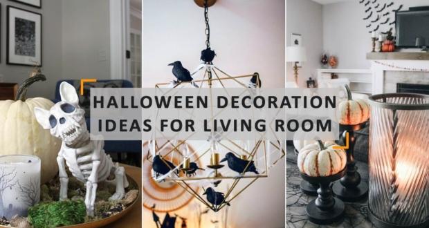 Halloween Living Room Decorations Ideas