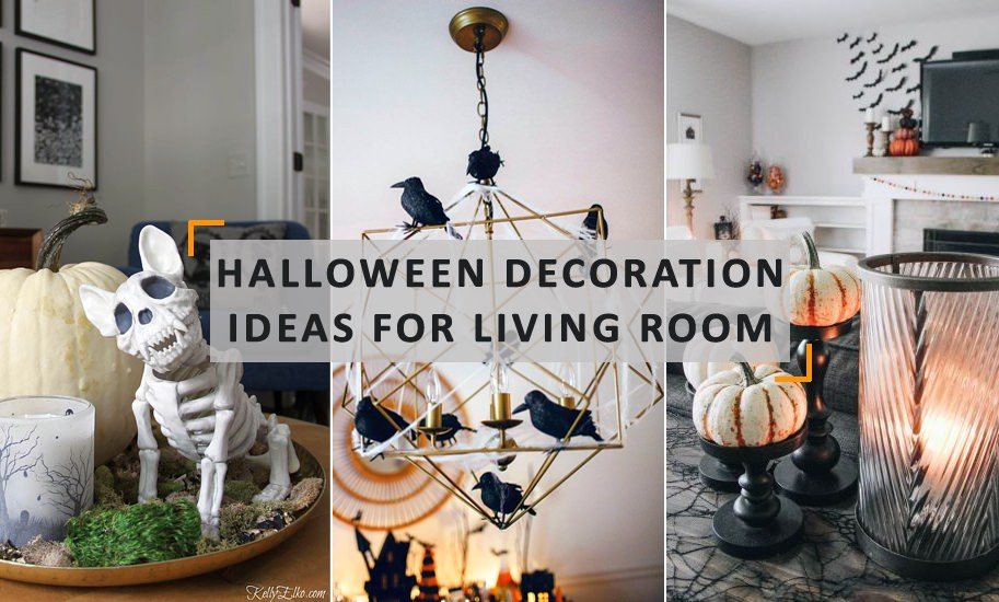 Halloween Living Room Decorations Ideas