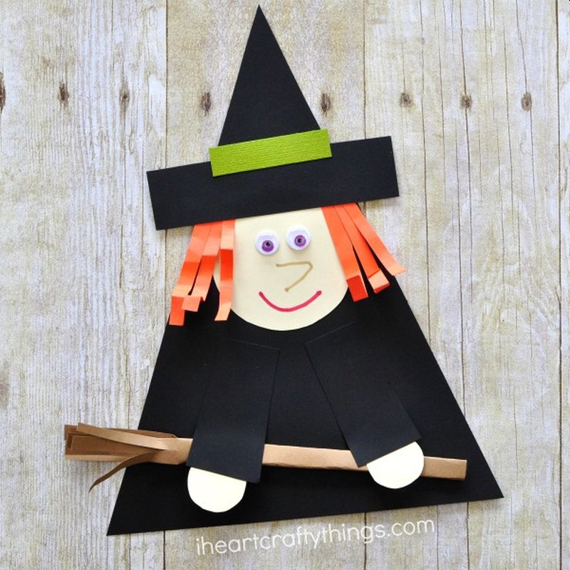 Simple Halloween Crafts and Activities for Kids