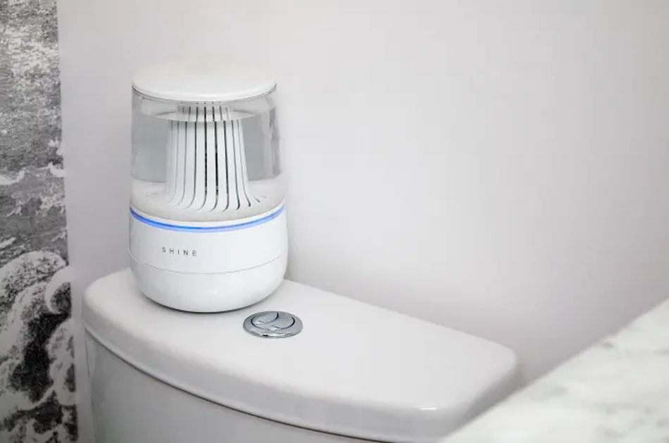 Smart Toilet Cleaner Shine Bathroom Assistant Uses Electrolyzed Water for Cleaning