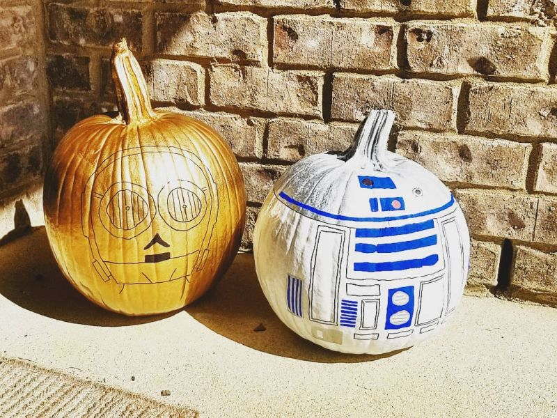 Easy pumpkin painting ideas 2020