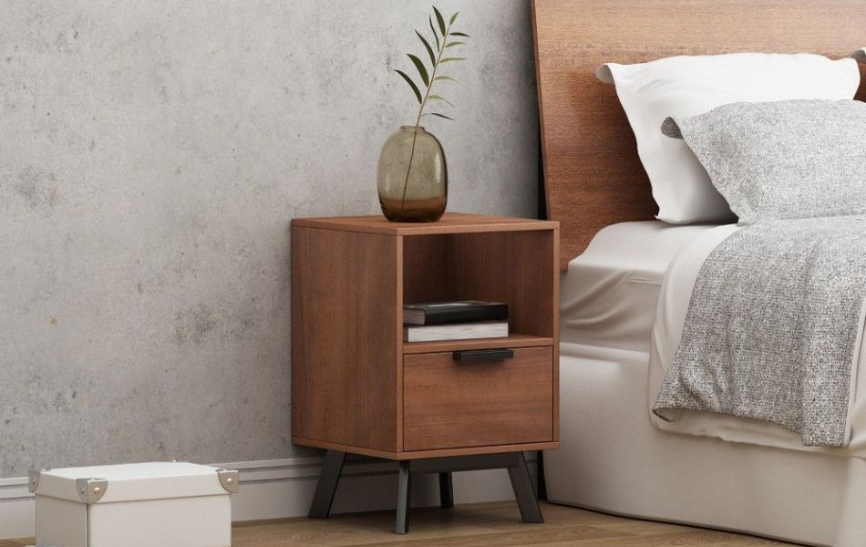 types of bedside tables