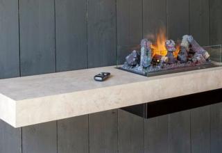 Dimplex-concrete-shelf-fireplace